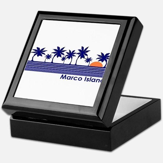 Marco Island, Florida Keepsake Box
