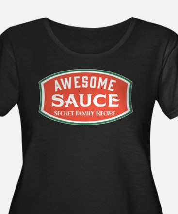 Awesome Sauce Plus Size T-Shirt