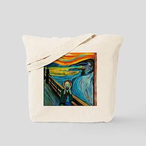 MINDFUL SCREAM Tote Bag