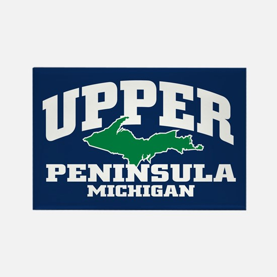 Upper Peninsula Rectangle Magnet