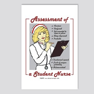 Student Nurse Assessment Postcards (Package of 8)