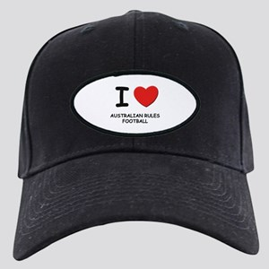 I love australian rules football Black Cap