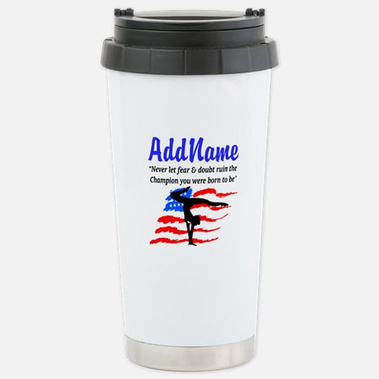 USA GYMNAST Stainless Steel Travel Mug