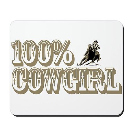 100% COWGIRL Mousepad