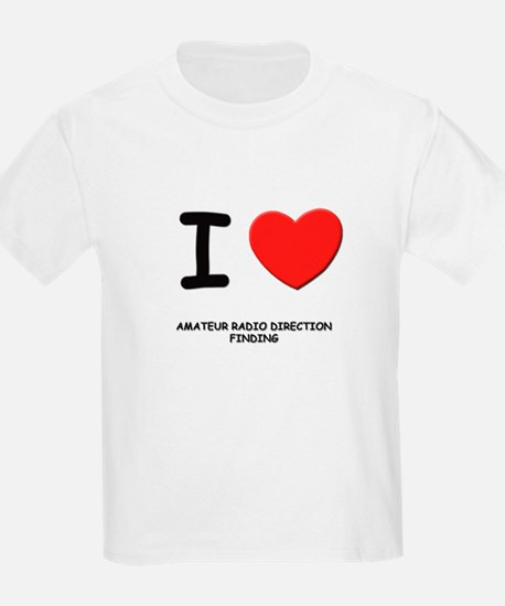 I love amateur radio direction finding T-Shirt