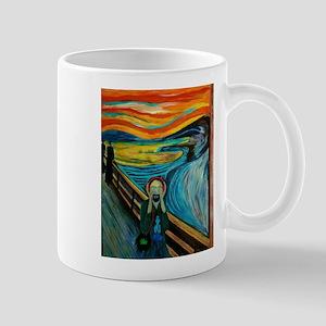 MINDFUL SCREAM Mugs