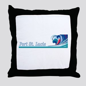 Port St. Lucie, Florida Throw Pillow