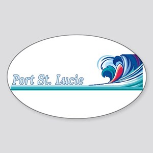 Port St. Lucie, Florida Oval Sticker