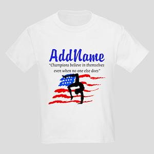 AMERICAN GYMNAST Kids Light T-Shirt