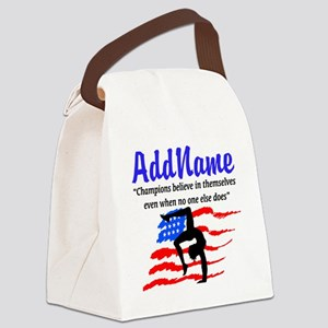 AMERICAN GYMNAST Canvas Lunch Bag