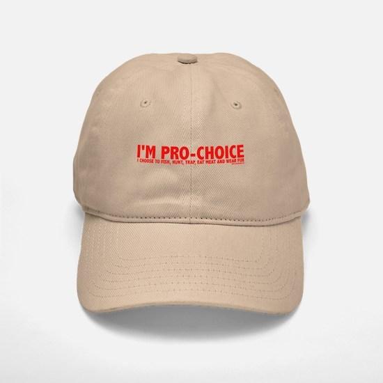 Pro-Choice Baseball Baseball Cap