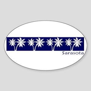 Sarasota, Florida Oval Sticker