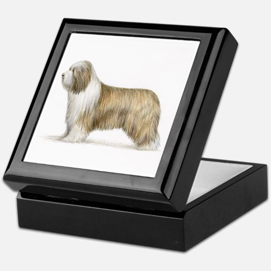 Bearded Collie Keepsake Box