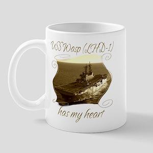 USS Wasp (LHD-1) Mugs
