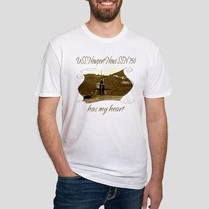 USS Newport News SSN 750 T-Shirt