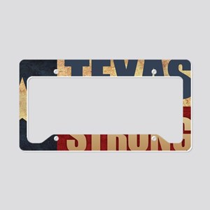 Texas Strong License Plate Holder