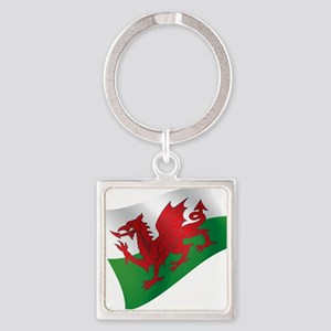 Welsh Flag Keychains