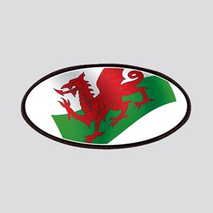Welsh Flag Patches