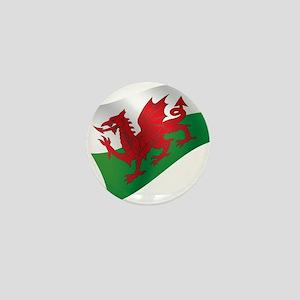 Welsh Flag Mini Button