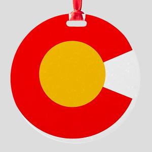 CO - Colorado Round Ornament
