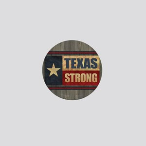 Texas Strong Mini Button