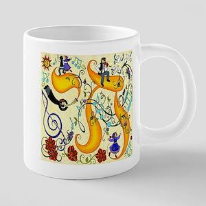 JEWISH MUSICI HAPPY HANUKKAH Mugs