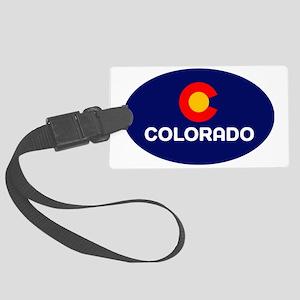 CO - Colorado Large Luggage Tag