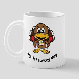 My First Turkey Day Mug