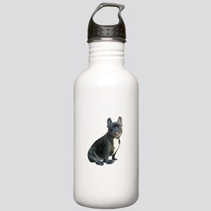 French Bulldog (blk)1 Stainless Water Bottle 1.0L