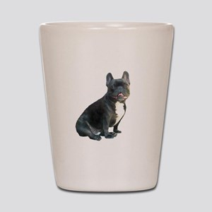 French Bulldog (blk)1 Shot Glass