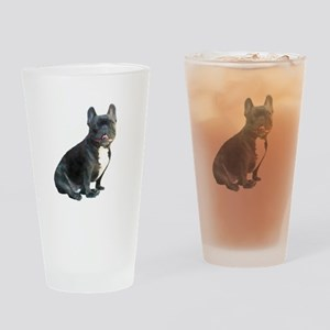 French Bulldog (blk)1 Drinking Glass