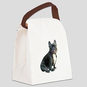 French Bulldog (blk)1 Canvas Lunch Bag