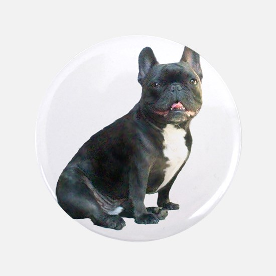 "French Bulldog (blk)1 3.5"" Button"
