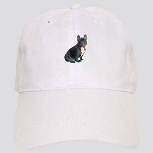 88535184910 White French Bulldog Hats - CafePress