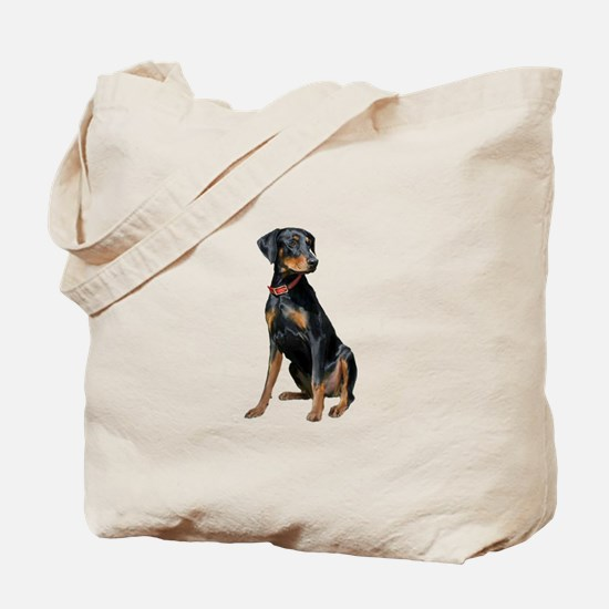 Doberman (nat1) Tote Bag