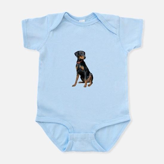 Doberman (nat1) Infant Bodysuit