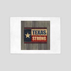 Texas Strong 5'x7'Area Rug