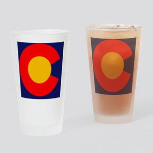 CO - Colorado Drinking Glass