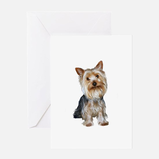Silky Terrier (Gpol1) Greeting Card