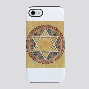 STAR OF DAVID - JEWISH STAR iPhone 7 Tough Case