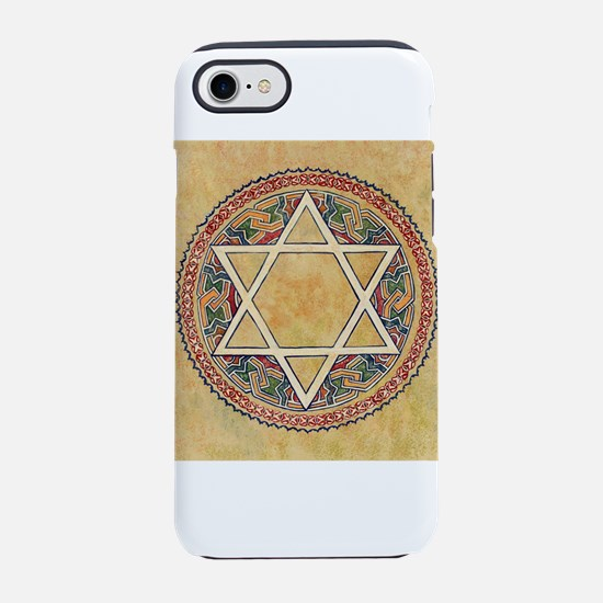STAR OF DAVID - JEWISH STAR iPhone 7 Tough Case
