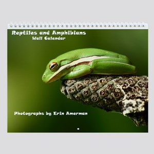 Reptiles And Amphibians Wall Calendar