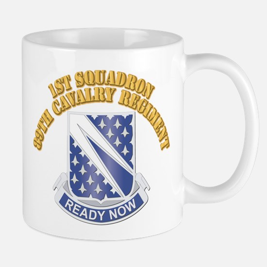 DUI - 1st Squadron - 89th Cavalry Regiment With te