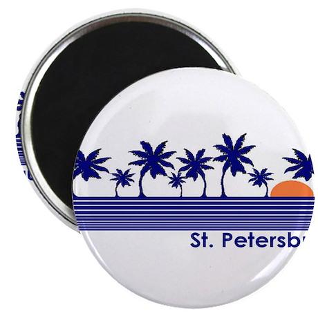 "St. Petersburg, Florida 2.25"" Magnet (10 pack)"