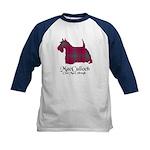 Terrier-MacCulloch.MacCulloug Kids Baseball Jersey
