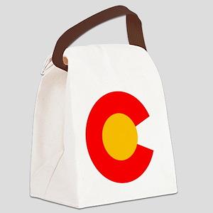 CO - Colorado Canvas Lunch Bag