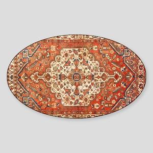Antique Floral Persian Rug Sticker