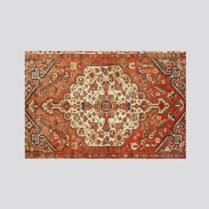 Antique Floral Persian Rug Magnets