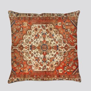 Antique Floral Persian Rug Everyday Pillow