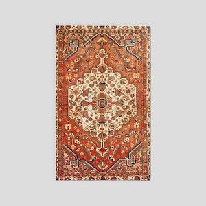 Antique Floral Persian Rug Area Rug